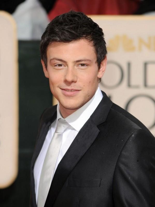 Cory Monteith, protagonista di Glee, sul tappeto rosso dei 67° Golden Globes (2010)