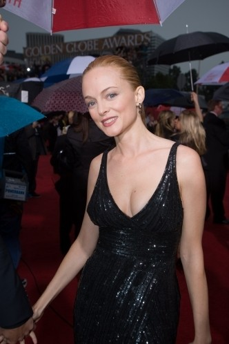 Heather Graham sul tappeto rosso dei 67° Golden Globes (2010)