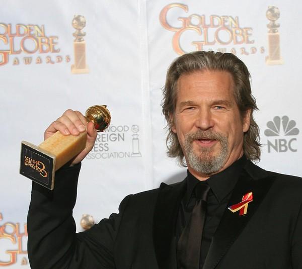 Jeff Bridges Miglior Attore Drammatico per Crazy Heart ai Golden Globes (2010)