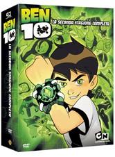 La copertina di Ben 10 - Stagione 2 (dvd)