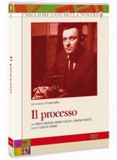 La copertina di Il processo (dvd)