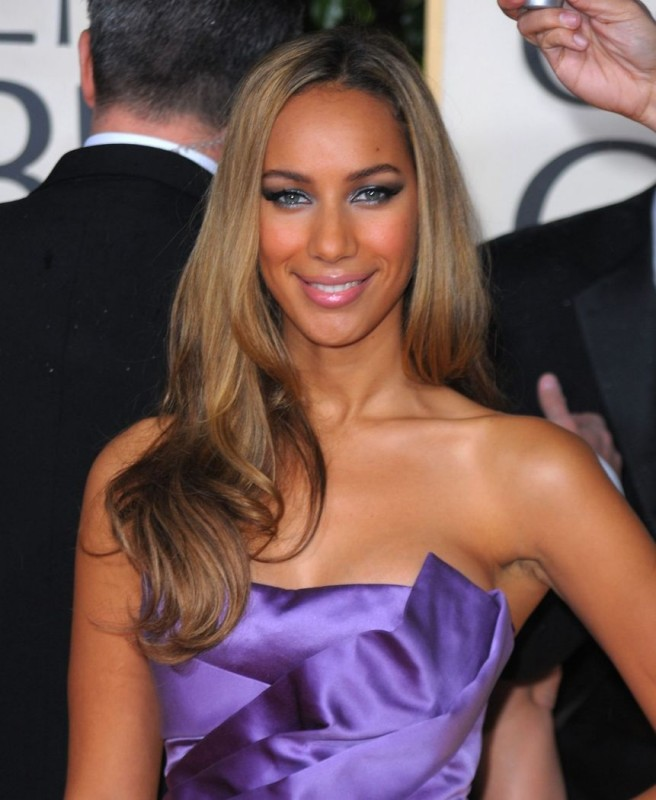 Leona Lewis sul tappeto rosso dei 67° Golden Globes (2010)