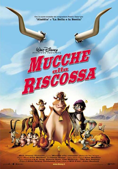 Locandina italiana del film d\'animazione Mucche alla riscossa ( 2004 )