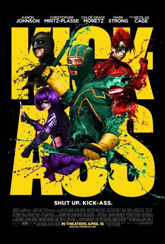 Poster definitivo di Kick-Ass