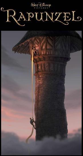 Poster del film d\'animazione Raperonzolo (Rapunzel 2010)