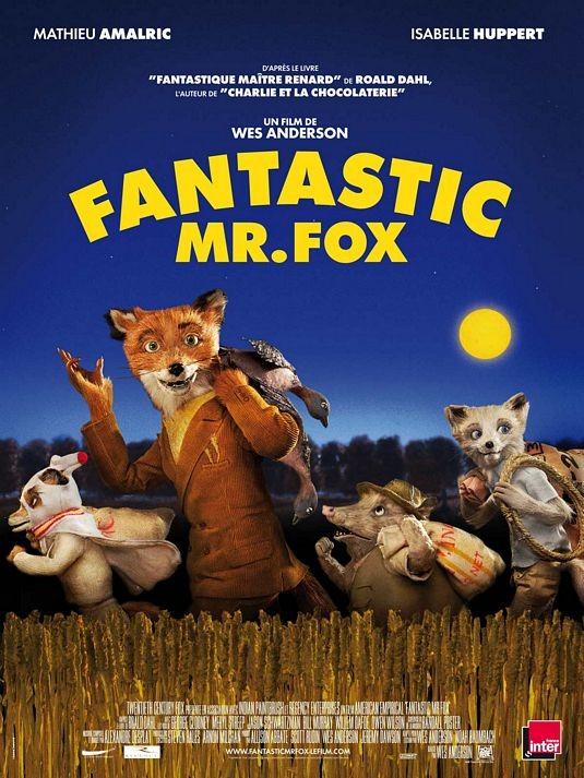 Poster francese per The Fantastic Mr. Fox