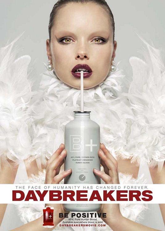 Poster internazionale per il film Daybreakers
