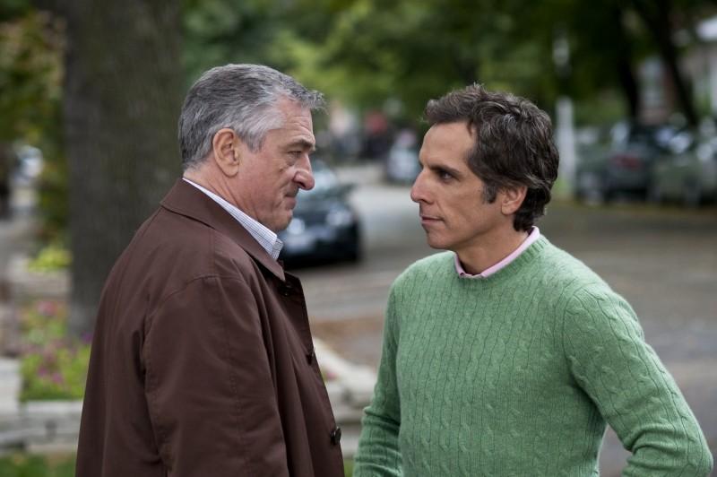 Robert De Niro e Ben Stiller in una prima immagine di Ti presento i piccoli