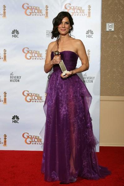 Sandra Bullock ai 67° Golden Globes (2010)