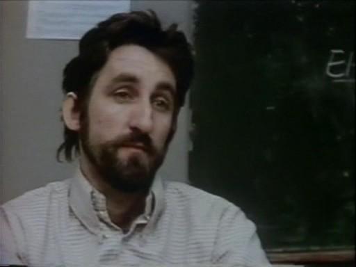 Frank Ripploh in una scena di Ai cessi in tassì da lui diretto e interpretato