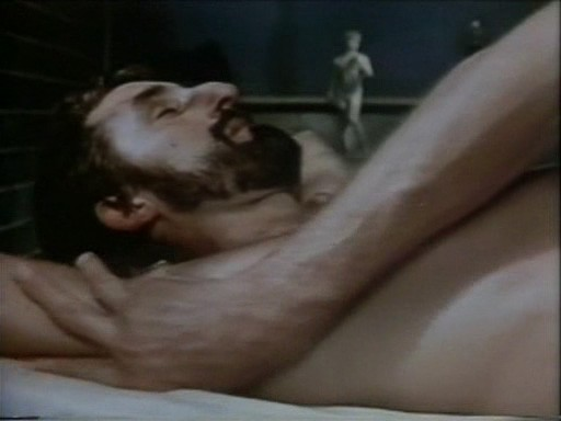 Frank Ripploh in una sequenza del film Ai cessi in tassì (1981)