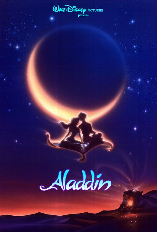Locandina del film d\'animazione Aladdin (1992)
