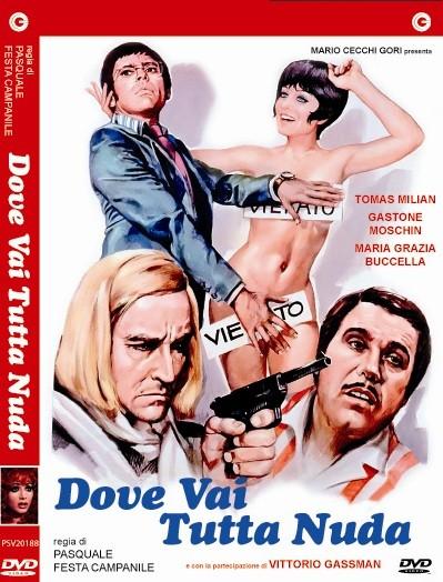 La copertina di Dpve vai tutta nuda? (dvd)