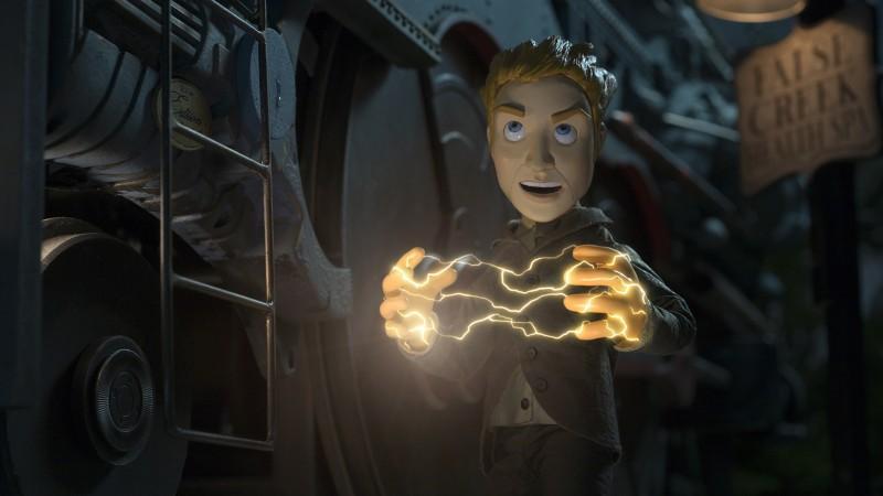 Un'immagine del film d'animazione Edison and Leo