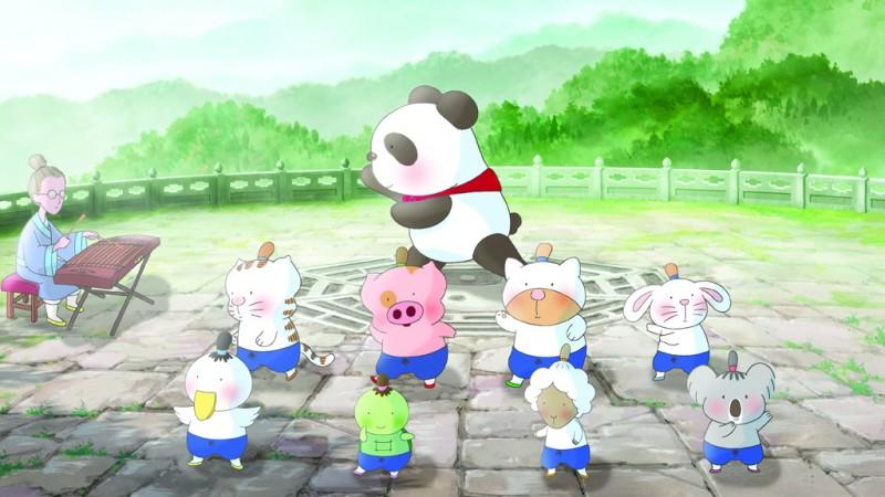 Un'immagine del film d'animazione McDull, Kung Fu Kindergarten