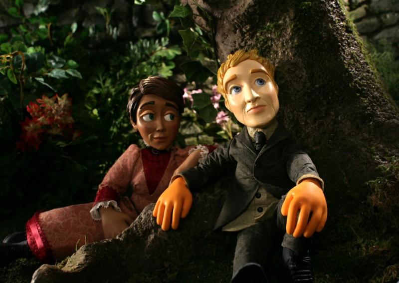 Una scena del film d'animazione Edison and Leo