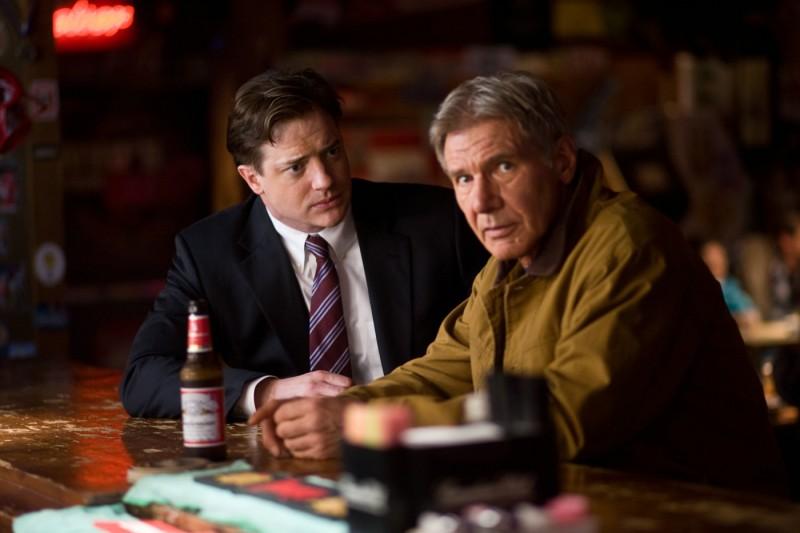 Brendan Fraser e Harrison Ford in una scena del film Extraordinary Measures