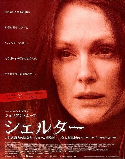 Character poster giapponese per Shelter: Julianne Moore