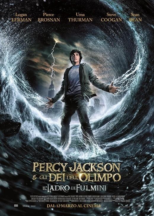 Nuova locandina italiana di Percy Jackson e gli dei dell'Olimpo: Il ladro di fulmini