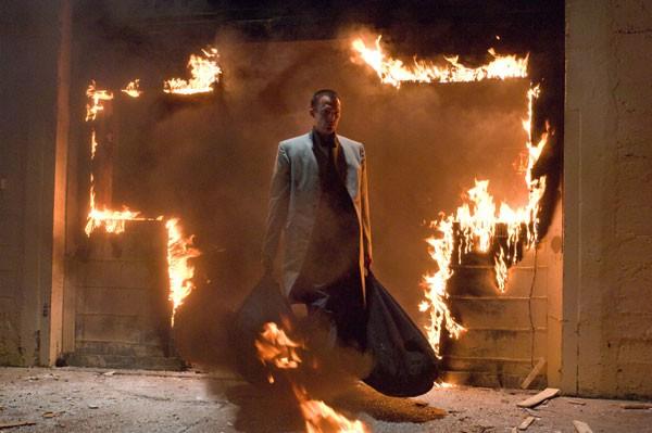 Paul Bettany è l'arcangelo Michele nel film Legion