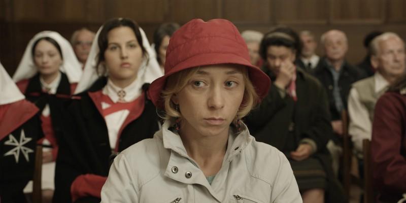 Sylvie Testud in un'immagine del film Lourdes
