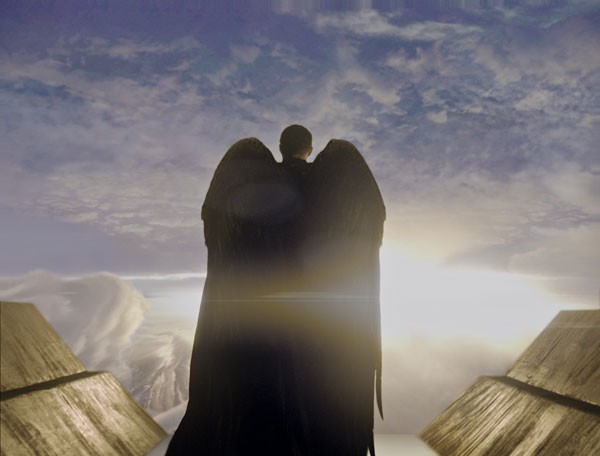 Un'immagine di salvezza tratta dal film Legion