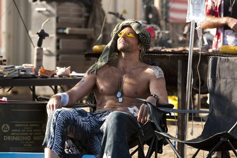 Bradley Cooper è il Tenente Templeton 'Faceman' Peck in una scena del film The A-Team