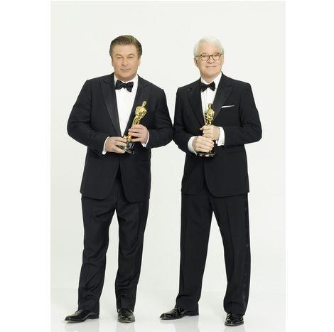 Gli host dell'edizione 2010 degli Academy Awards, Alec Baldwin e Steve Martin