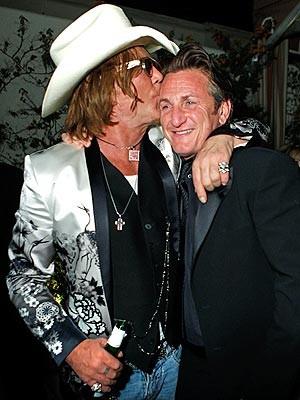 Mickey Rourke e Sean Penn