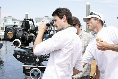 One Tree Hill: James Lafferty sul set di I and Love and You