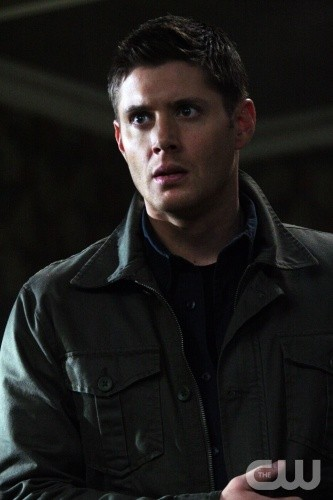 Supernatural: Jensen Ackles in una scena dell'episodio Back to the Future II