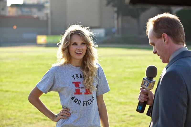 Taylor Swift nel ruolo di Felicia per il film Valentine's Day