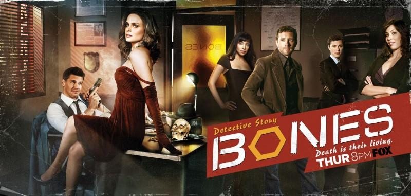 Un poster con sviluppo orizzontale della stagione 5 di Bones