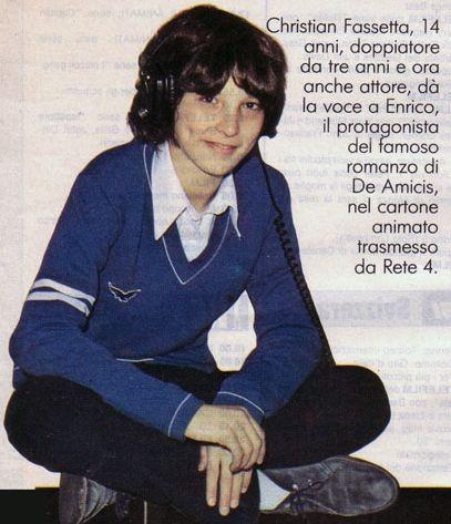 Una fotografia di Christian Fassetta a 14 anni