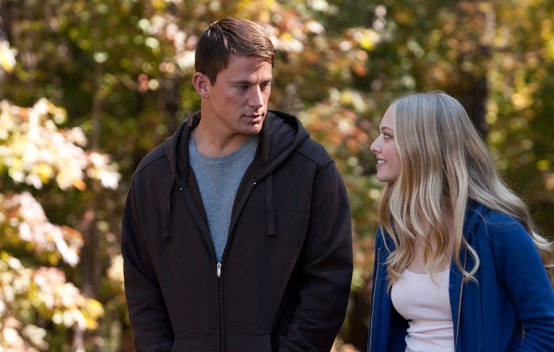 Channing Tatum e Amanda Seyfried in una scena del film Dear John