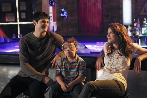 La famiglia Scott in una sequenza dell'episodio Some Roads Lead Nowhere