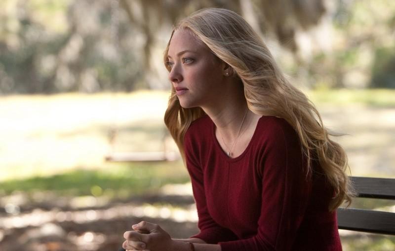 L'attrice Amanda Seyfried in un momento del film Dear John