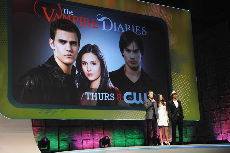 Paul Wesley, Nina Dobrev e Ian Somerhalder al The CW Network Upfront (21 May 2009)
