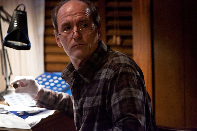Richard Jenkins nel ruolo di Mr. Tyree in un momento del film Dear John