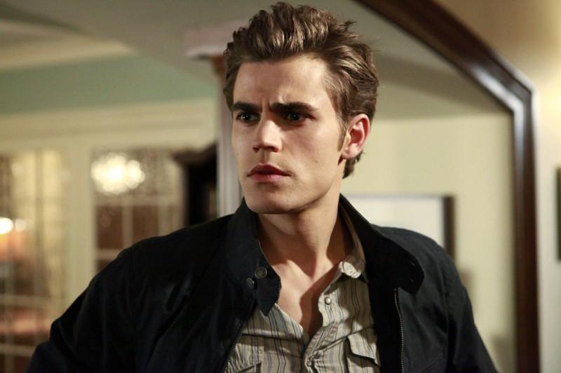Un primo piano di Stefan (Paul Wesley) nell'episodio Unpleasantville di The Vampire Diaries