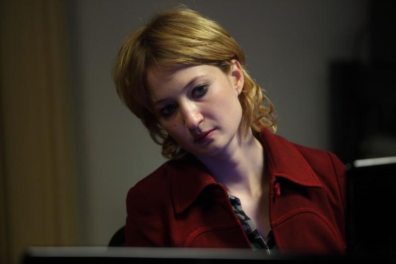 Alba Rohrwacher in una scena del film Cosa voglio di più di Silvio Soldini