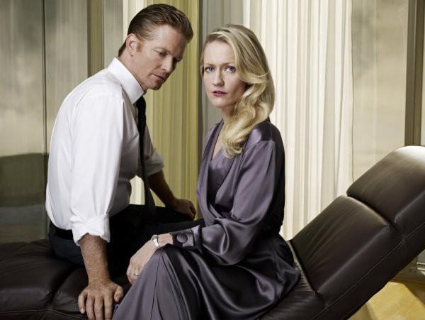 Caprica: Eric Stoltz e Paula Malcomson in una foto promozionale