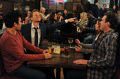 How I Met Your Mother: una scena dell'episodio The Perfect Week