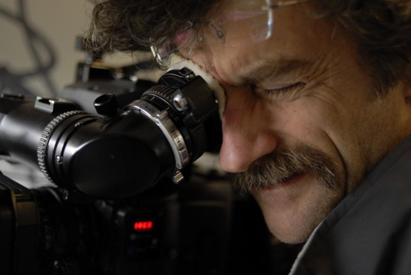 Il regista Silvio Soldini sul set del suo film Cosa voglio di più