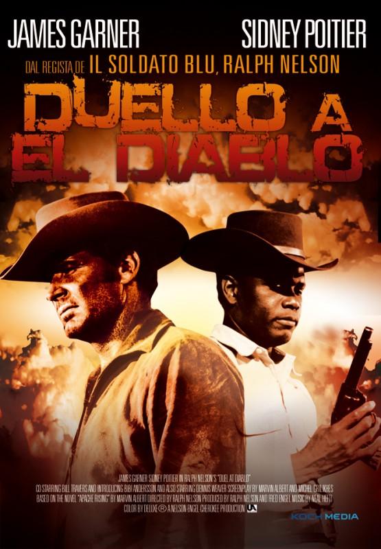 La copertina di Duello a El Diablo (dvd)