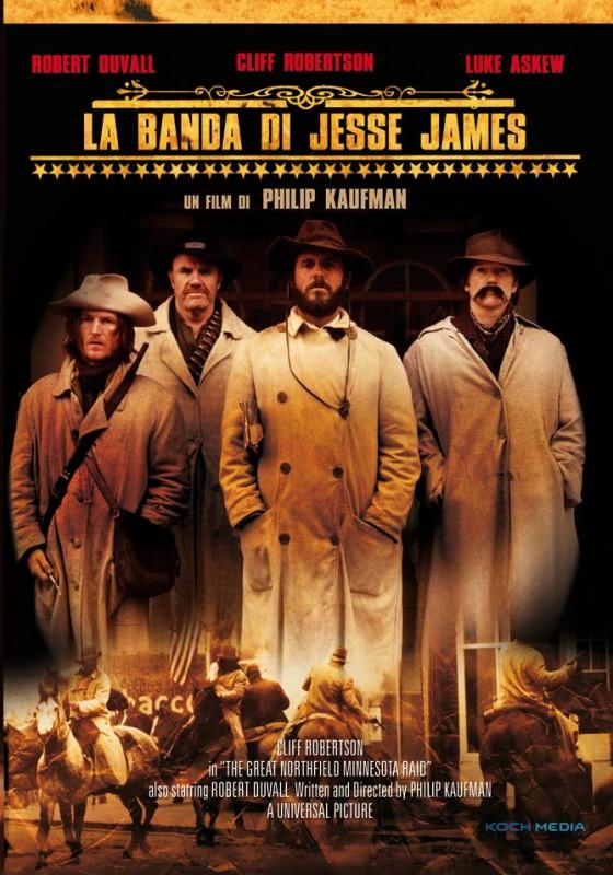 La copertina di La banda di Jesse James (dvd)
