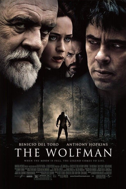 Nuovo poster per il film The Wolfman (2010)