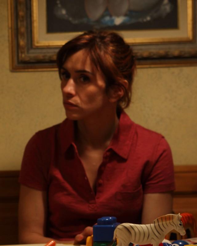 Teresa Saponangelo in un'immagine tratta dal film Cosa voglio di più