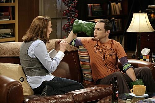 The Big Bang Theory: Jim Parsons e Jen Drohan nell'episodio The Psychic Vortex