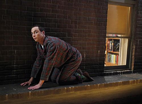 The Big Bang Theory: Jim Parsons in un momento dell'episodio The Bozeman Reaction